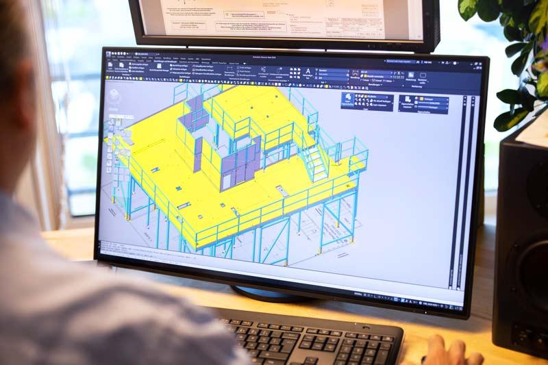 CAD Büro technische Zeichnung